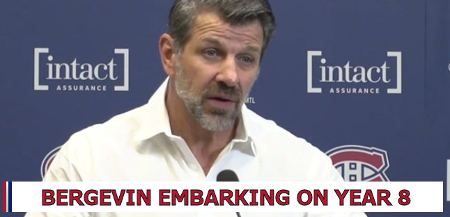 343ea3ed274 When Montreal Canadiens General Manager Marc Bergevin held end of season  2018-19 press conference back on April 9, he spoke of many of the positives  going ...
